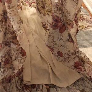 Mossimo Supply Co. Dresses - High low floral boho maxi: BOGO w/ any F21 item!